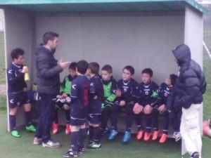 27-02-2016 Pulcini 2006 Garibaldina - Nuova Cormano Calcio Mister Apricena tiene a rapporto la squadra